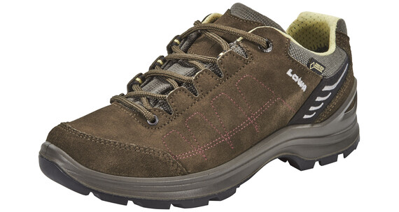 Lowa Tiago GTX Low Shoes Women schiefer/mint